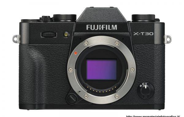 Fotocamera Fujifilm X-T30 Black (solo corpo)