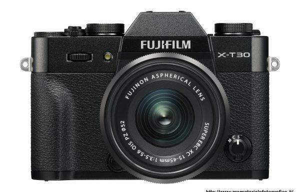 Kit Fotocamera Fujifilm X-T30 Black + Obiettivo Fujinon XC15-45mm f/3.5-5.6 OIS PZ
