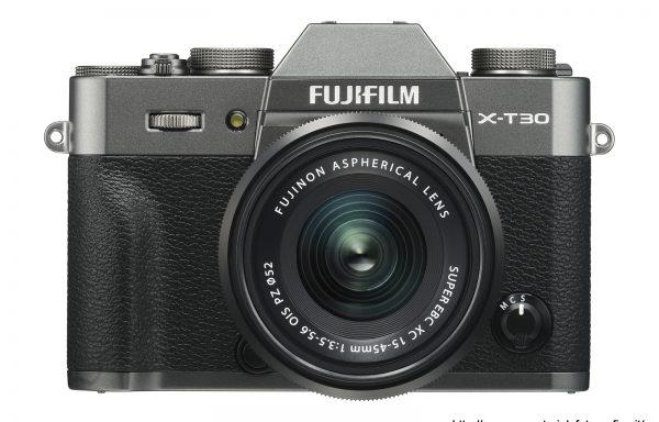 Kit Fotocamera Fujifilm X-T30 Antracite + Obiettivo Fujinon XC15-45mm f/3.5-5.6 OIS PZ (disponibile da Giugno)
