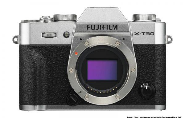 Fotocamera Fujifilm X-T30 Silver (solo corpo)