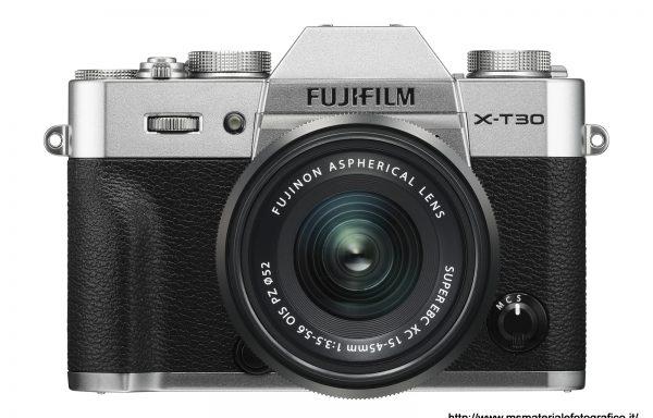 Kit Fotocamera Fujifilm X-T30 Silver + Obiettivo Fujinon XC15-45mm f/3.5-5.6 OIS PZ