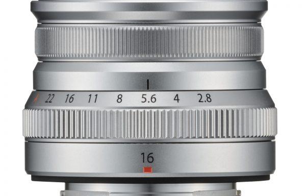 Obiettivo Fujifilm XF 16mm f/2.8 R WR (Silver disponibile da Maggio)