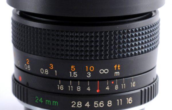 Obiettivo Yashica ML 24mm f/2,8