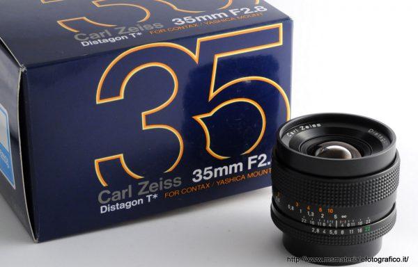 Obiettivo Contax Distagon 35mm f/2,8