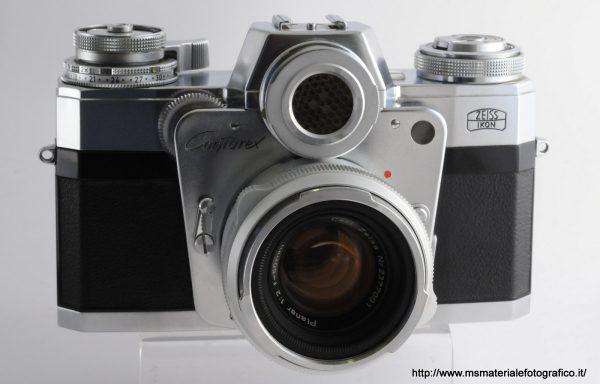 Kit Fotocamera Contarex Ciclope + Obiettivo Carl Zeiss Planar 50mm f/2