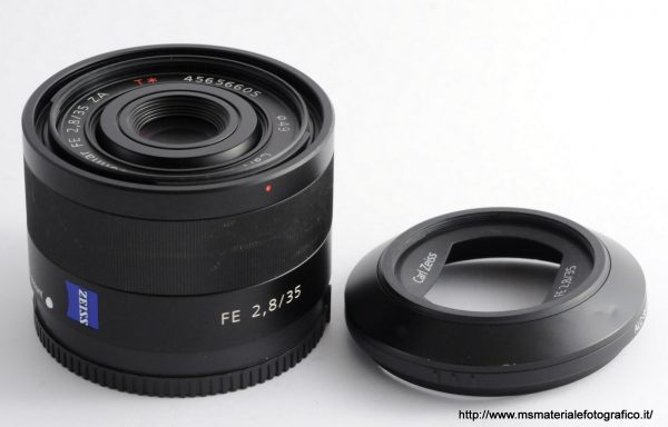 Obiettivo Sony Zeiss Sonnar T* FE 35mm f/2,8 ZA