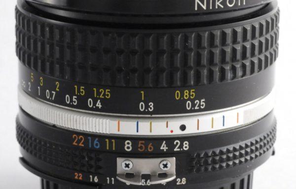Obiettivo Nikkor AI-S 20mm f/2,8