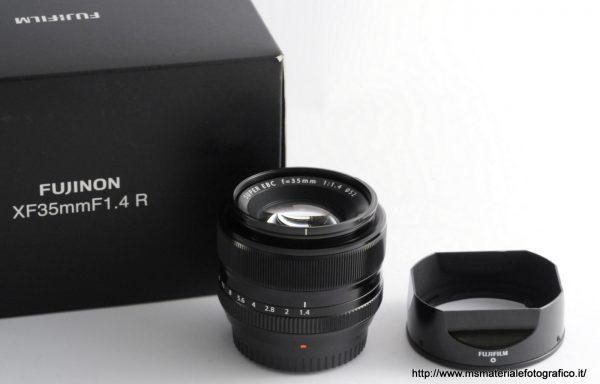 Obiettivo Fujifilm XF 35mm f/1,4