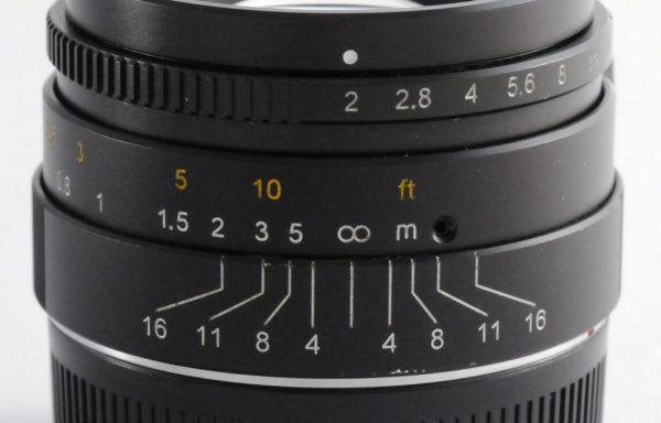 Obiettivo 7Artisans 35mm f/2 per Leica M