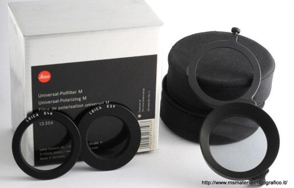 Filtro polarizzatore universale Leica M 13356