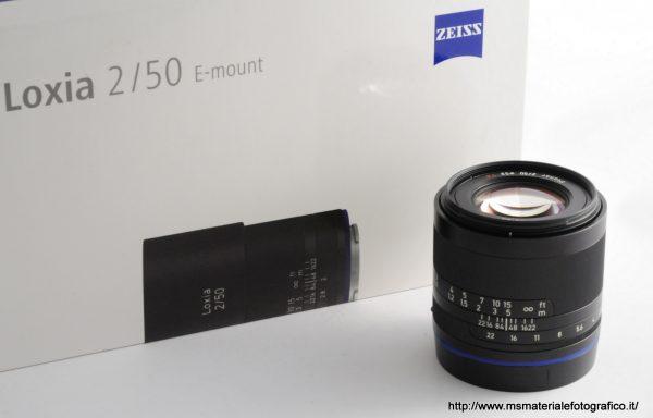 Obiettivo Zeiss Loxia 50mm f/2 Planar T* E-Mount