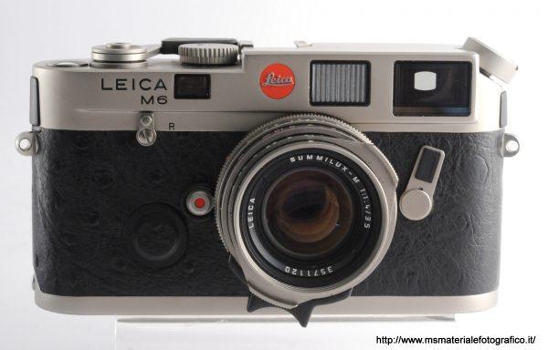 Kit Fotocamera Leica M6 Titanio (1994) + 35mm f/1,4 Summilux Pre Asph titanio