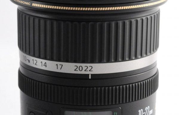 Obiettivo Canon EF-S 10-22mm f/3,5-4,5 USM