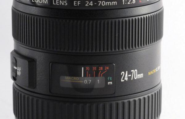 Obiettivo Canon EF 24-70mm f/2,8 L USM