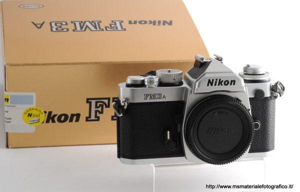 Fotocamera Nikon FM3 A Silver
