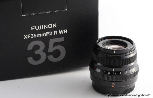 Obiettivo Fujifilm XF 35mm f/2
