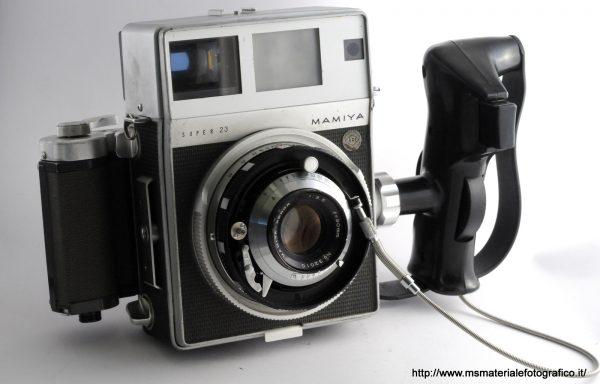Kit Fotocamera Mamiya Super 23 + Obiettivo Mamiya Sekor 90mm f/3,5 + Magazzino