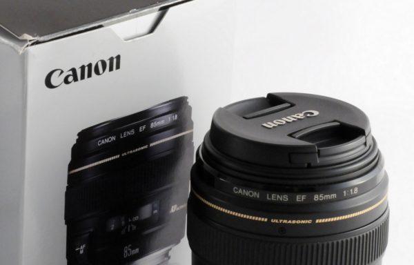 [Promozione] Obiettivo Canon EF 85mm f/1,8 USM
