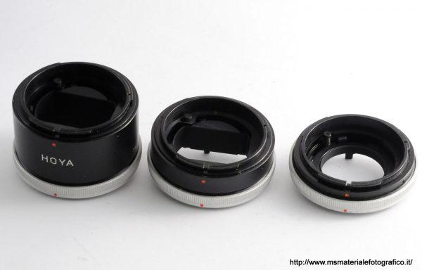 Set di tubi di prolunga macro Hoya per Canon FD