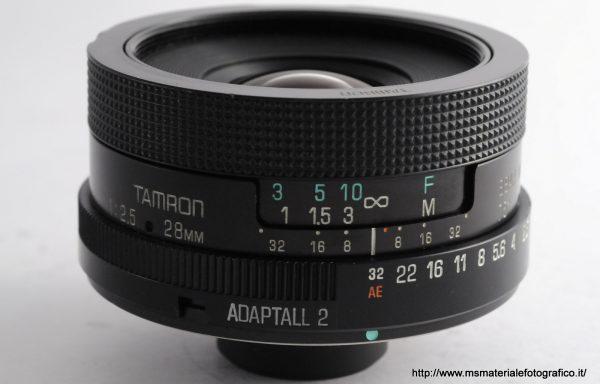 Obiettivo Tamron 28mm f/2,5 Adaptall-2
