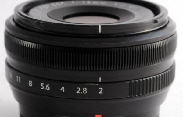 Obiettivo Fujifilm 18mm f/2