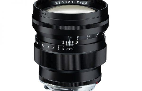 Obiettivo Voigtlander VM 75mm f/1,5 Nokton (black)