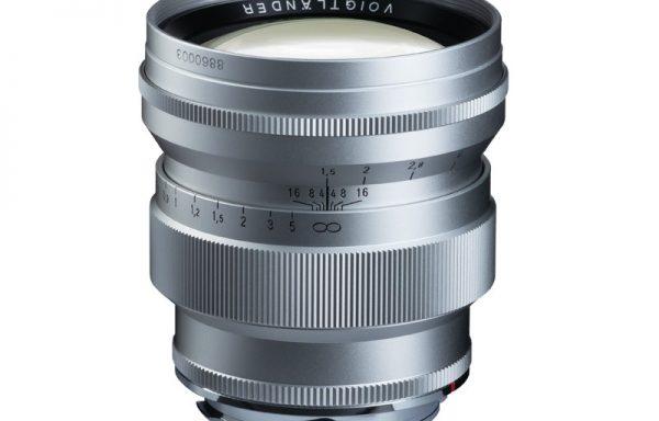 Obiettivo Voigtlander VM 75mm f/1,5 Nokton (silver)