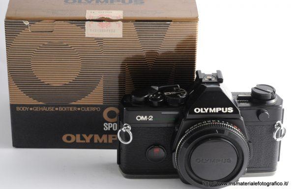 Fotocamera Olympus OM-2 spot/program