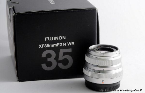 Obiettivo Fujifilm XF 35mm f/2 Silver