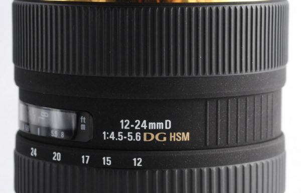 Obiettivo Sigma AF 12-24mm f/4,5-5,6 EX DG HSM per Nikon