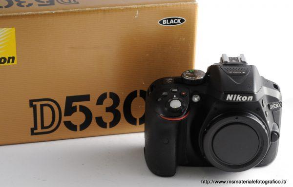 Fotocamera Nikon D5300 (18000 scatti)