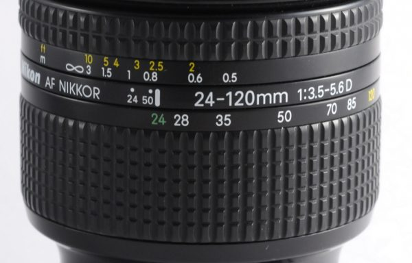 Obiettivo Nikkor AF 24-120mm f/3,5-5,6D