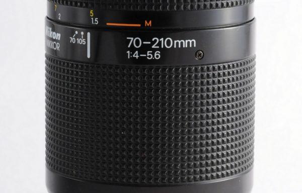 Obiettivo Nikkor AF 70-210mm f/4-5,6