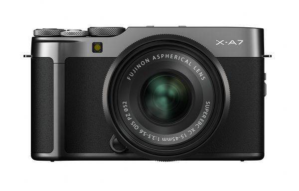 Kit Fotocamera Fujifilm X-A7 Dark Silver + Obiettivo Fujifilm XC 15-45mm f/3,5-5,6 OIS