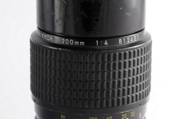 Obiettivo Nikkor AI 200mm f/4