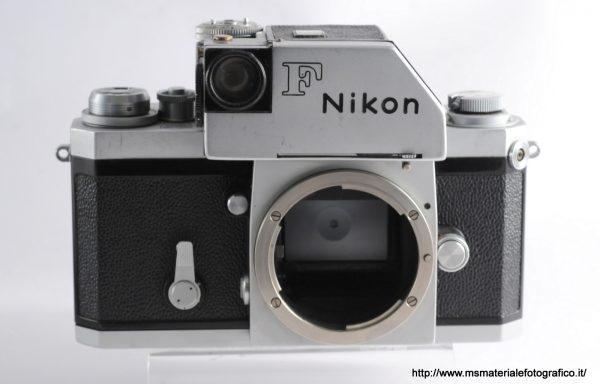 Fotocamera Nikon F Silver Nippon Kogaku 1963