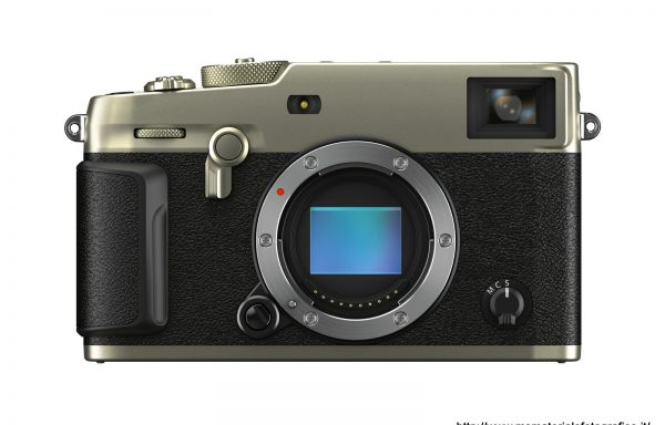 Fotocamera Fujifilm X-Pro 3 Titanium Silver (solo corpo)