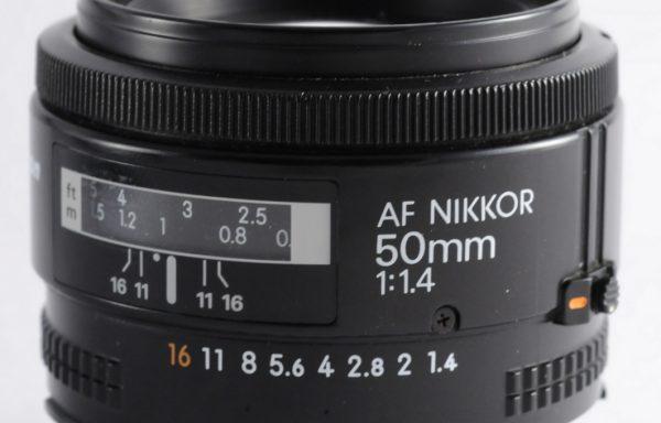 [Promozione] Obiettivo Nikkor AF 50mm f/1,4