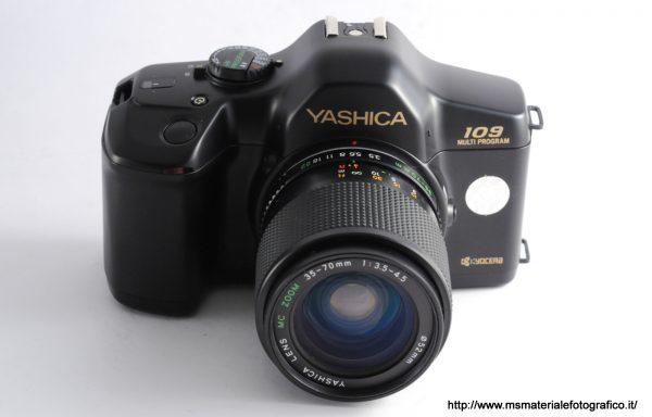 Kit Fotocamera Yashica 109 Multi Program + Obiettivo Yashica 35-70mm f/3,5-4,5