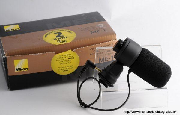 Microfono Nikon ME-1