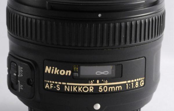 Obiettivo Nikkor AF-S 50mm f/1,8 G