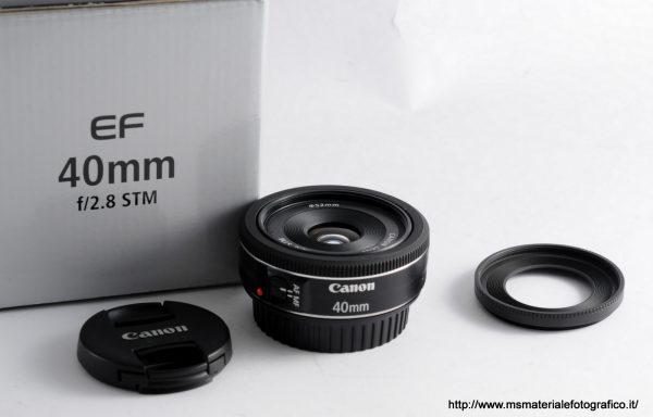 Obiettivo Canon EF 40mm f/2,8 STM