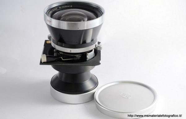 Obiettivo Biogon con piastra Linhof 75mm f/4,5