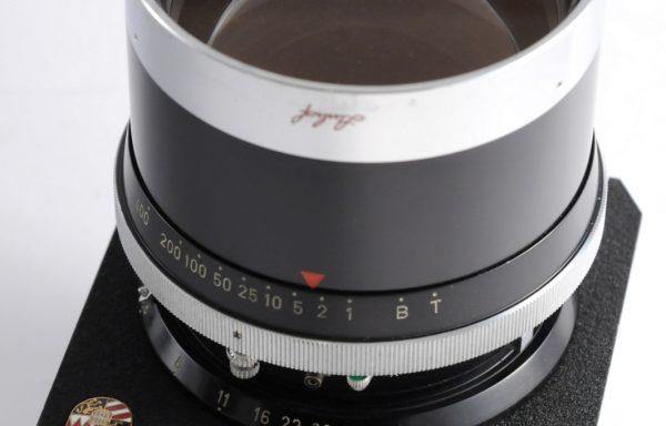 Obiettivo Sonnar con piastra Technika 250mm f/5,6