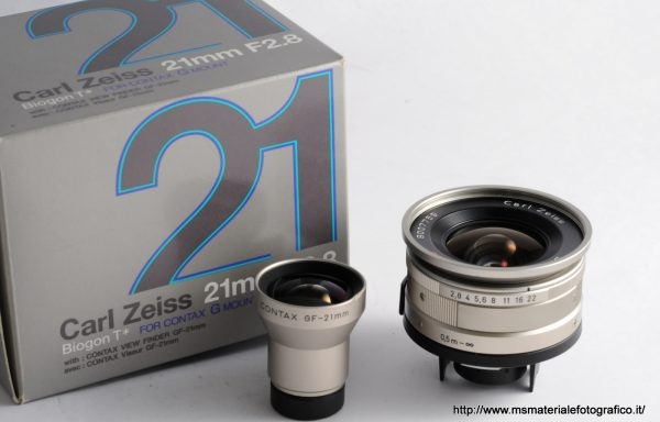 Obiettivo Zeiss Biogon T 21mm f/2,8 G Mount