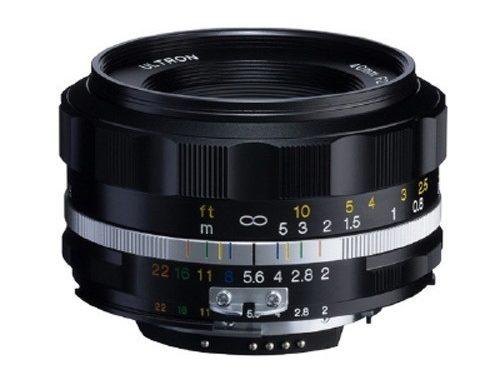 Obiettivo Voigtlander 40mm f/2 Ultron SL II S per Nikon AI-S (black)