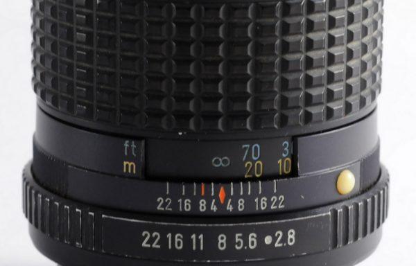 Obiettivo SMC Pentax-M 100mm f/2,8