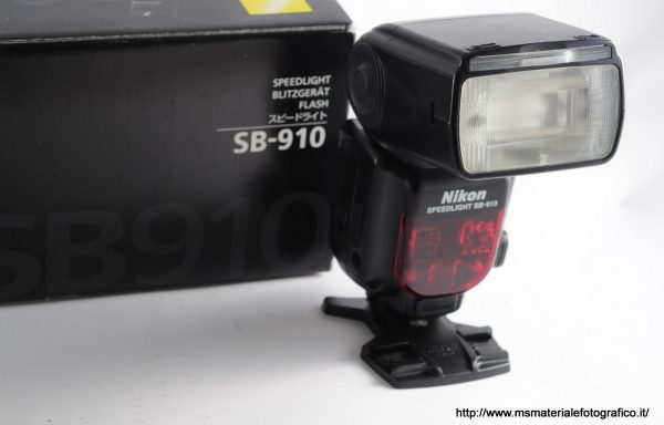 Flash Nikon Speedlight SB-910 Nital