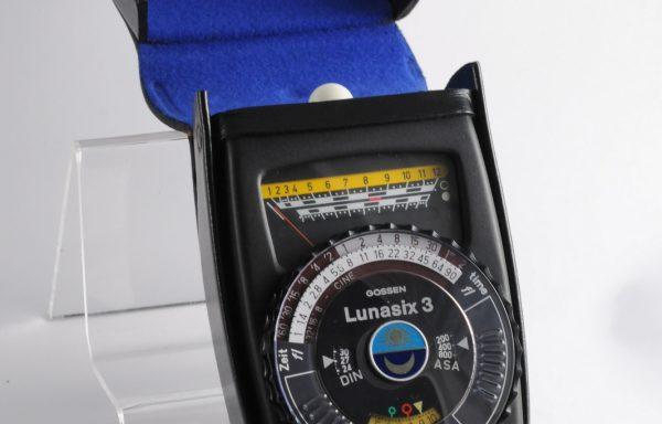 Esposimetro Gossen Lunasix 3