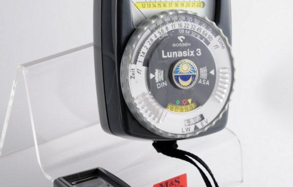 Esposimetro Gossen Lunasix 3 + Accessorio Spot